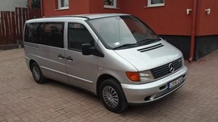 Mercedes Vito 2.2 CDI (automata, klímás, 7 személyes kisbusz)